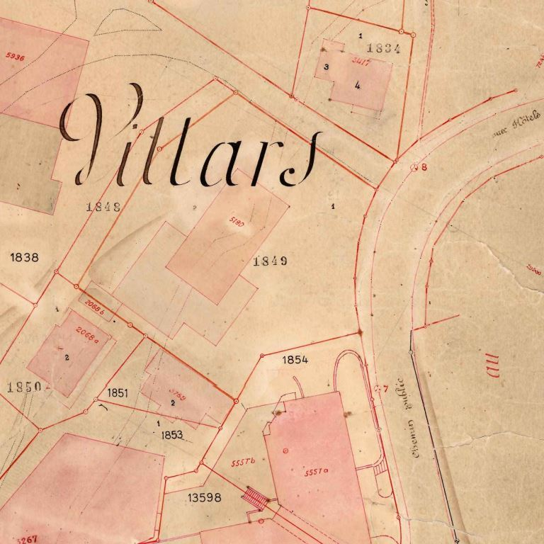 Mensuration de Villars-sur-Ollon